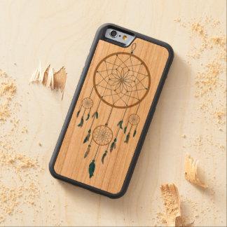 Dream catcher design carved cherry iPhone 6 bumper case