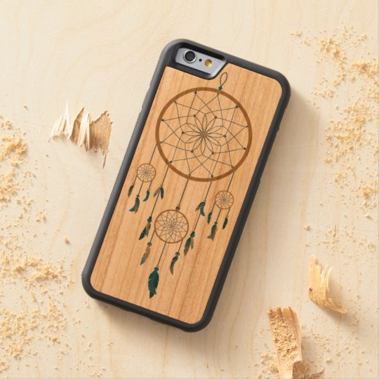 Dream catcher design carved cherry iPhone 6 bumper case
