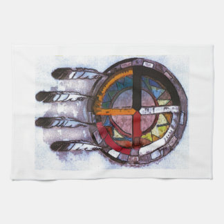 Dream catcher kitchen towel
