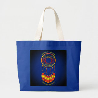 Dream Catcher Large Tote Bag