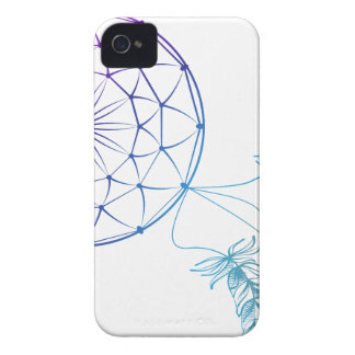dream catcher on white background iPhone 4 covers