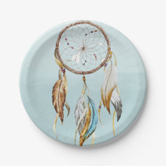 Dream Catcher Paper Plate