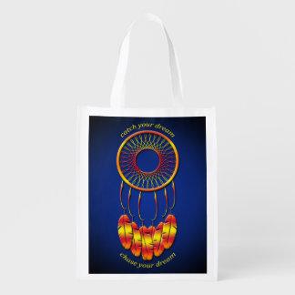 Dream Catcher Reusable Grocery Bag