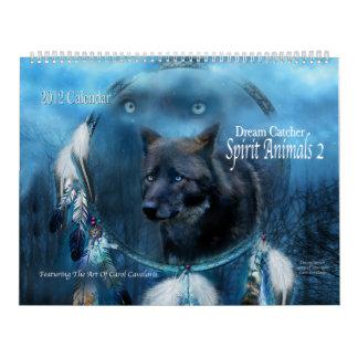 Dream Catcher - Spirit Animals 2 Art Calendar 2012