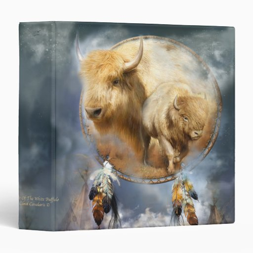 Dream Catcher-Spirit Of The White Buffalo Binder