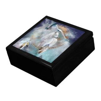 Dream Catcher - Spirit Of The Wolf Art Gift Box
