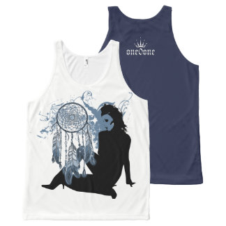 Dream Catcher Thoughts All-Over-Print Tank Top