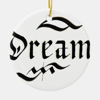 Dream Ceramic Ornament