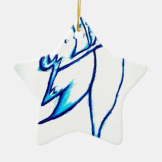 Dream Compose Draw Ceramic Star Ornament
