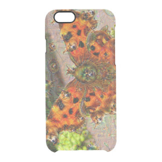Dream Creatures, Butterfly, DeepDream Clear iPhone 6/6S Case