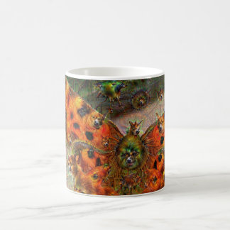 Dream Creatures, Butterfly, DeepDream Coffee Mug