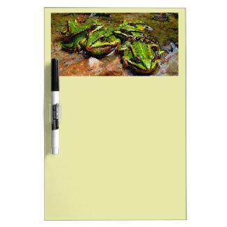 Dream Creatures, Frog 2, DeepDream Dry Erase Board