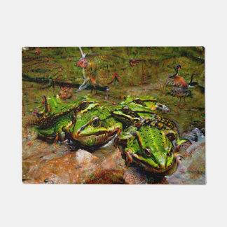 Dream Creatures, Frog, DeepDream Doormat