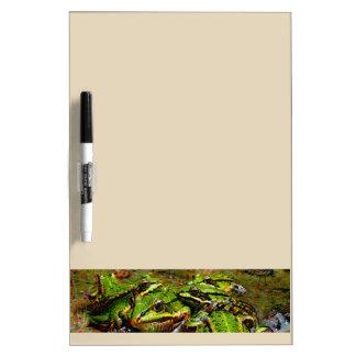 Dream Creatures, Frog, DeepDream Dry Erase Board