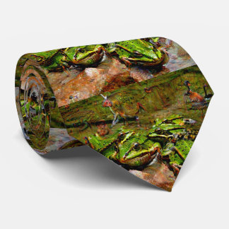 Dream Creatures, Frog, DeepDream Tie