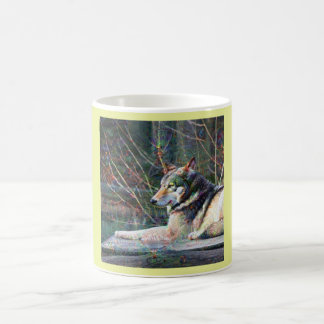Dream Creatures, Wolf, DeepDream Coffee Mug