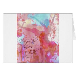Dream Dancer Card