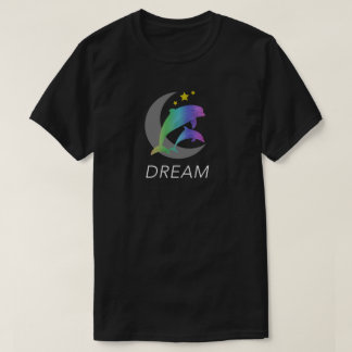 Dream (Dolphins, Moon, Stars) sweet T-shirt