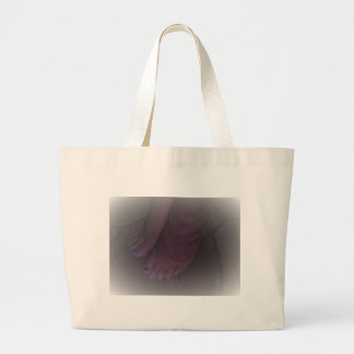DREAM FEET LARGE TOTE BAG