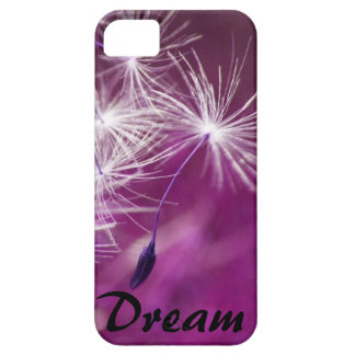 Dream floating dandelion (purple) iPhone 5 cover