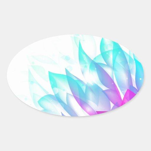 Dream-Flower-Vector FANTASY BLUES PINKS WHITE DREA Stickers