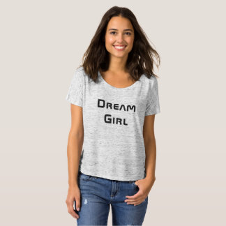 Dream Girl - Summer Women's Slouchy Short T-Shirt