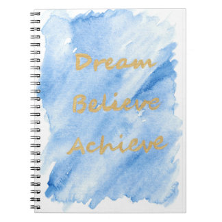 Dream, goal journal notebook