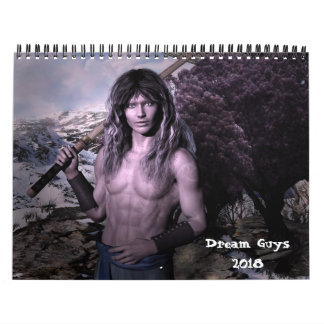 Dream Guys Fantasy 2018 Calendar