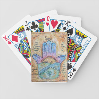 Dream Hamsa Bicycle Playing Cards