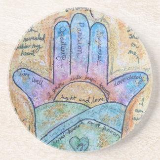 Dream Hamsa Coaster