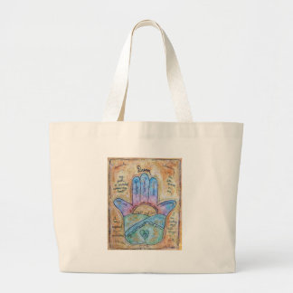 Dream Hamsa Large Tote Bag
