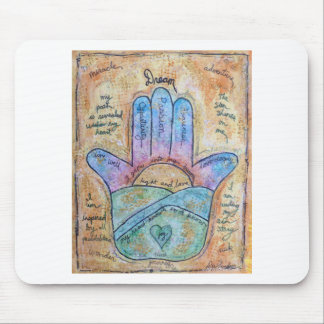 Dream Hamsa Mouse Pad