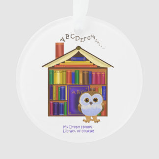 Dream Home – Library! Ornament