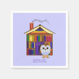 Dream Home – Library! Paper Napkins