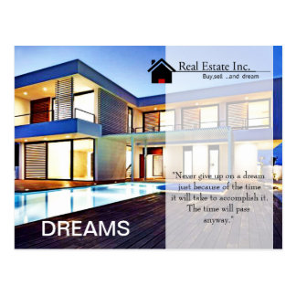 Dream Home Real Estate postcard
