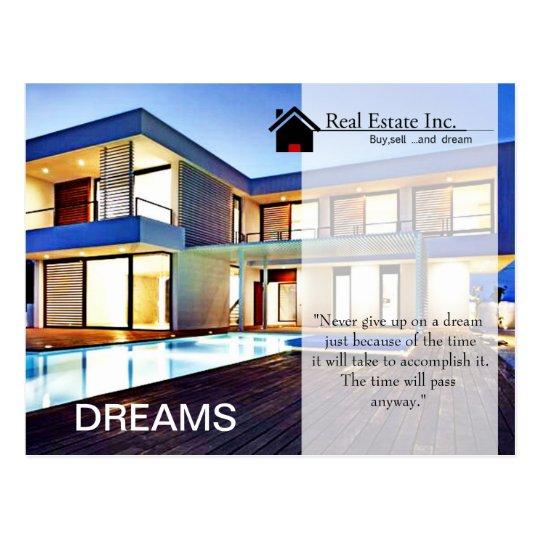 Dream Home Real Estate postcard