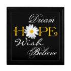 Dream, Hope, Wish, Believe Keepsake or Jewellery B Gift Box