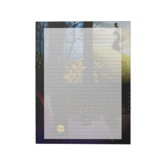 """Dream Imagery 8.5""""x11"""" Lined Notepad"""