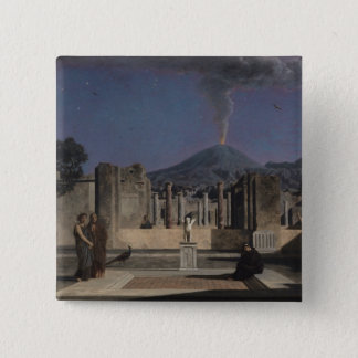 Dream in the Ruins of Pompeii, 1866 2 Inch Square Button
