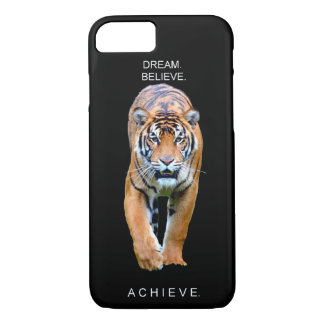 Dream it believe it achieve it motivation quote iPhone 8/7 case