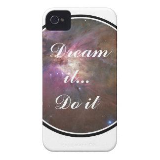 Dream it, Do it - Space Case-Mate iPhone 4 Cases