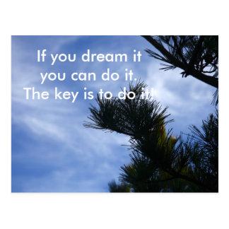 Dream it Postcard