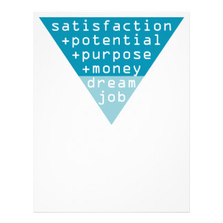 dream job formula letterhead