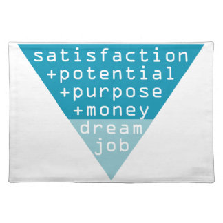 dream job formula placemat