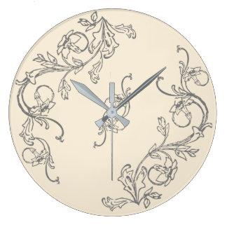 Dream Kitchen Design Series. Choose Color! Large Clock