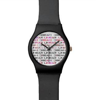 Dream Linear Logo Watch
