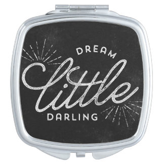 Dream Little Darling Chalkboard Mirrors For Makeup