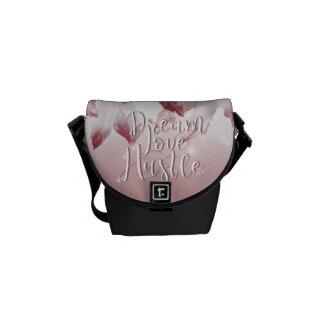 Dream Love Hustle Messenger Bags