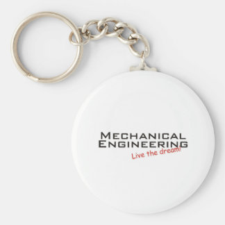Dream / Mechanical Engineering Basic Round Button Keychain