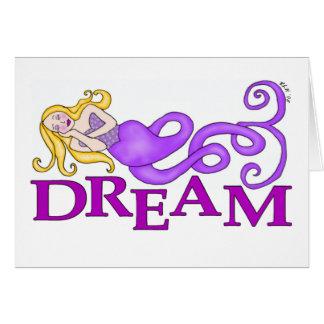 Dream Mermaid Card